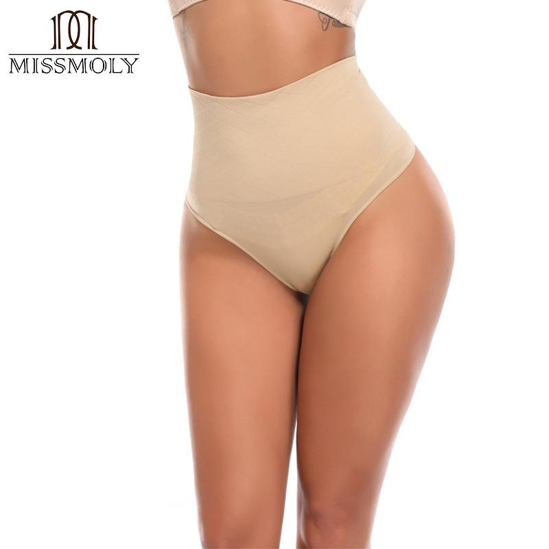 2ffc7be814a Miss Moly Modeling Waist Trainer Corrective Pulling Underwear High Tummy  Slimming Corset Sexy Thong Cincher Panty Shapewear UK 2019 From Salom
