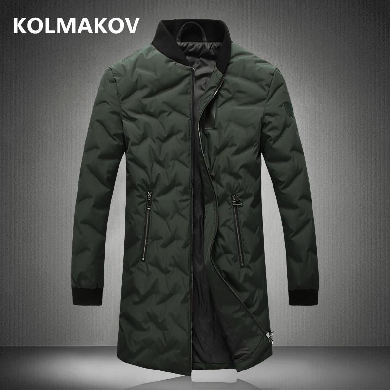 3ac2d24c8 NEW mens down coats winter men parkas down jackets slim fit men black long  coat men s parka male dress 2018 plus size M-5XL
