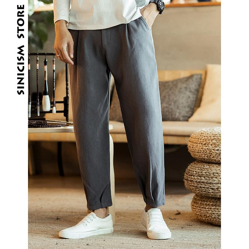 ba4d24667f 2019 Sinicism Store Men Wool Harem Pants 2018 Mens Thicken Streetwear Solid  Grey Joggers Pants Male Chinese Trousers Casual Clothing From Wuyasi, ...