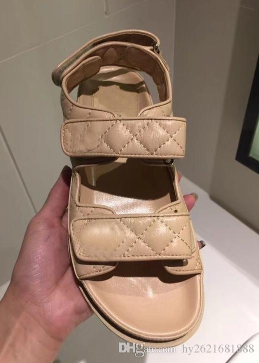 Sandalen Casual Leder flache Sandalen Sommer neue Stil kleine Schuhe Mode komfortable Freizeit Sport Modelle schwarz weiß braun handgefertigte Leder