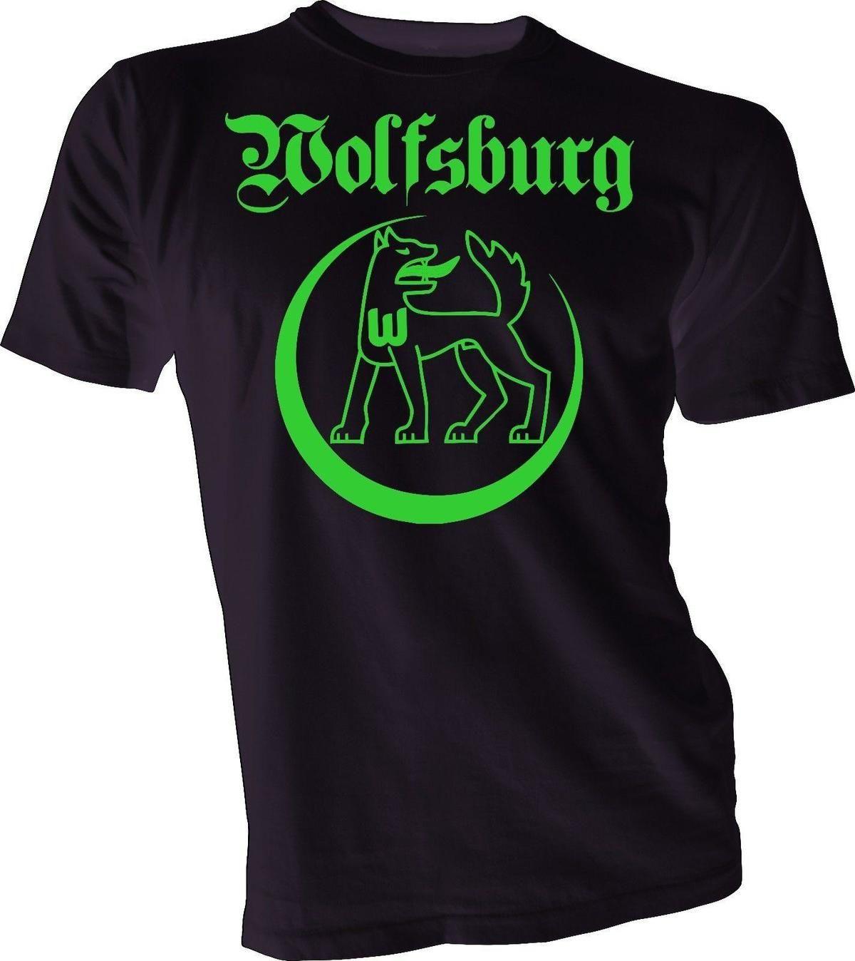 pretty nice 5d9ba 19dc9 VfL WOLFSBURG GERMANY Bundesliga Football Soccer Mens T shirt jersey  handmade 01