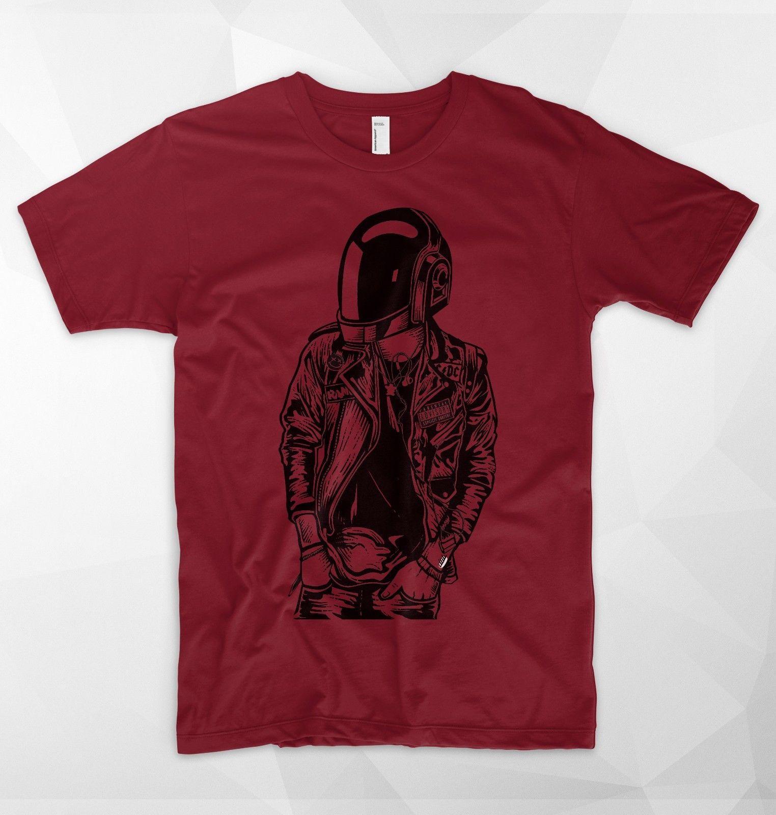 96a68dfecac Daft Punk Punkster T Shirt Top Electronic Music Lover Rebel Random France  Disco Mens 2018 Fashion Brand T Shirt O Neck 100%cotton Buy Funny T Shirts  Shirts ...