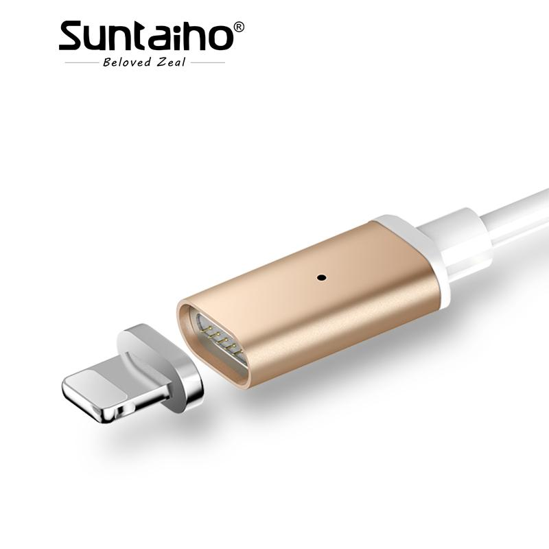 separation shoes b18e3 0a107 Suntaiho Magnetic Charger for iPhone 7 Plus Magnetic Cable 2.1A Fast  Charging for iphone X 8 6 Plus 6s 5 5s SE X iPad 2 mini