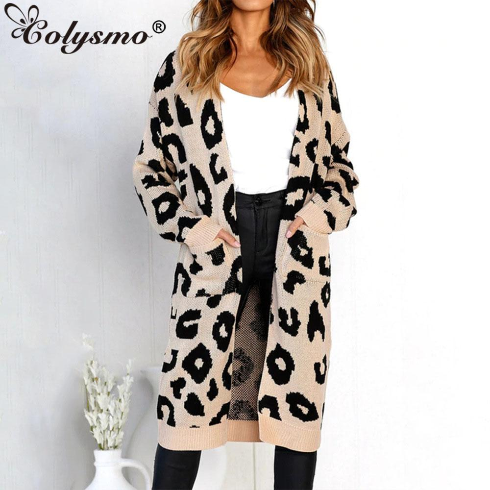 the best attitude d22b1 6c247 Colysmo Long Cardigan Damen Pullover Strickmantel Winter Damen Pullover  Damen Plus Size Long Sleeves Strickwaren Damen Strickjacke Neu