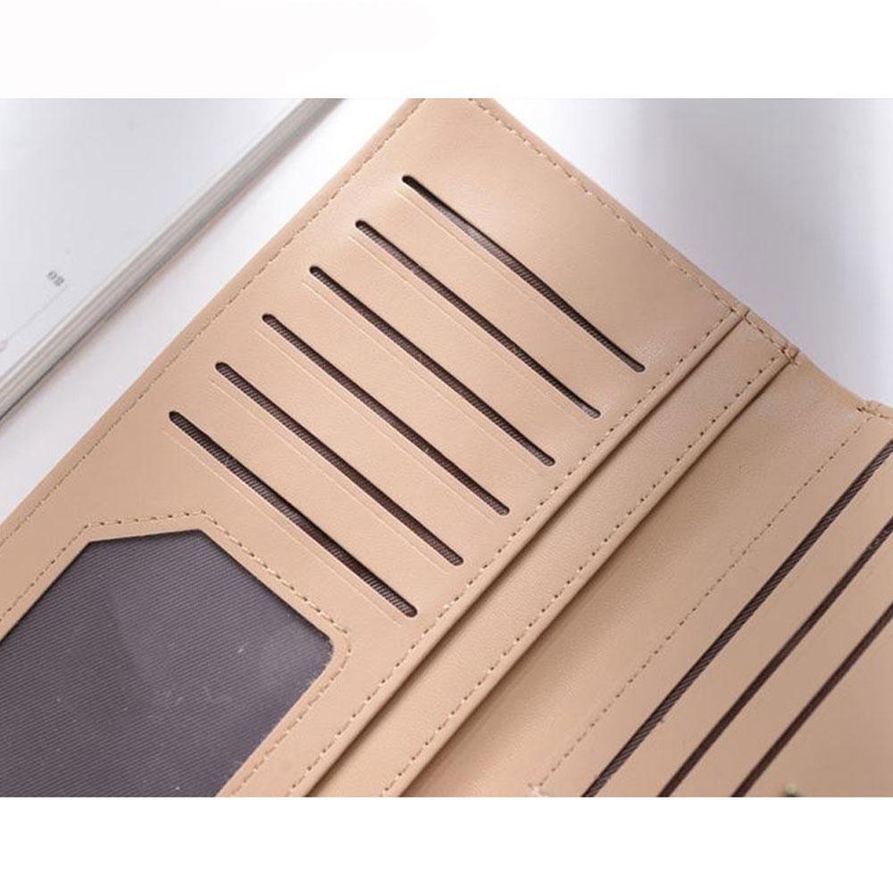 women purse female wallet hollow out leaf bifold wallet leather clutch women card holder purses ladies purse female A1491