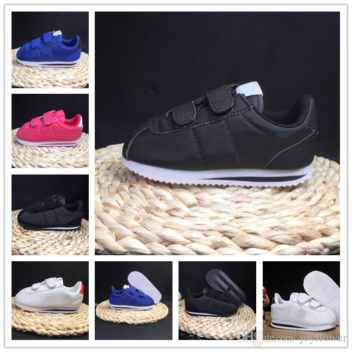 Acquista Nike Cortez 2018 Scarpe Bambini Primavera Sport Da Corsa Ragazze  Moda Sneakers Bambini Traspiranti Scarpe Da Uomo Scarpe Europee Taglia 22  35 A ... b230572f17c