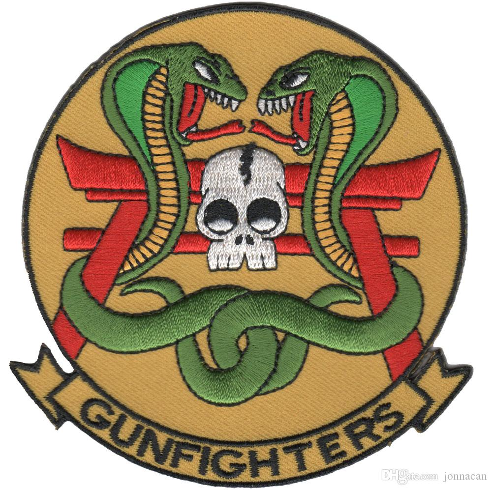 NEW ARRIVAL COOLEST GUNFIGHTERS EMBROIDERY PATCH MOTORCYCLE CLUB VEST OUTLAW BIKER MC COLORS PATCH
