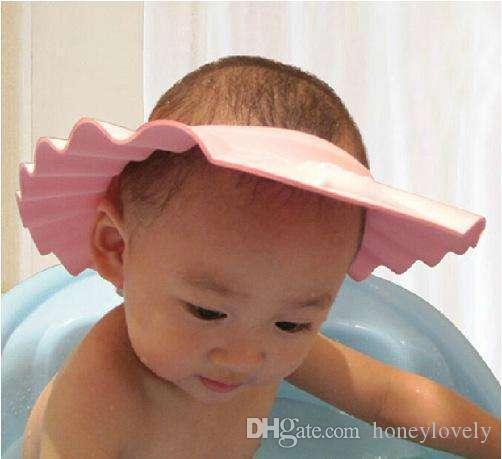 2018 2018 New Baby Baby Shampoo Cap Artifact Adjustable Waterproof ...