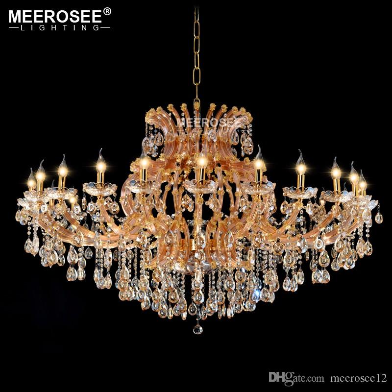 Luxurious amber crystal chandelier lighting maria theresa crystal luxurious amber crystal chandelier lighting maria theresa crystal light for hotel project restaurant lustres luminaria lamp chandelier candle covers aloadofball Image collections