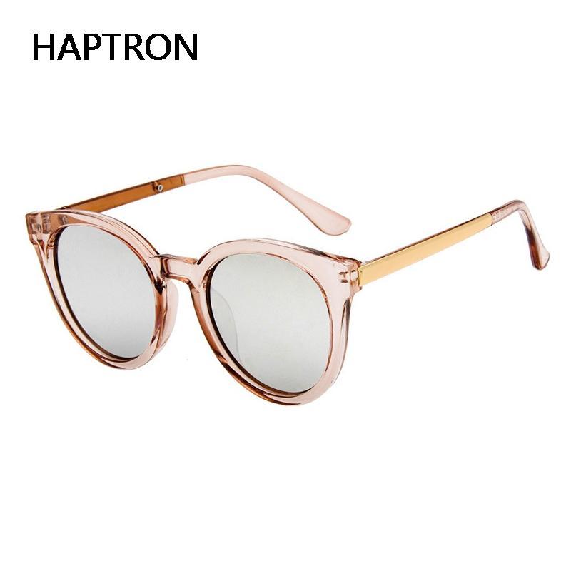 molto carino 0e662 b4244 Occhiali trasparenti moda Donna occhiali da sole rosa tondi oro rosa  montatura lenti argento Occhiali vintage color specchio oculos