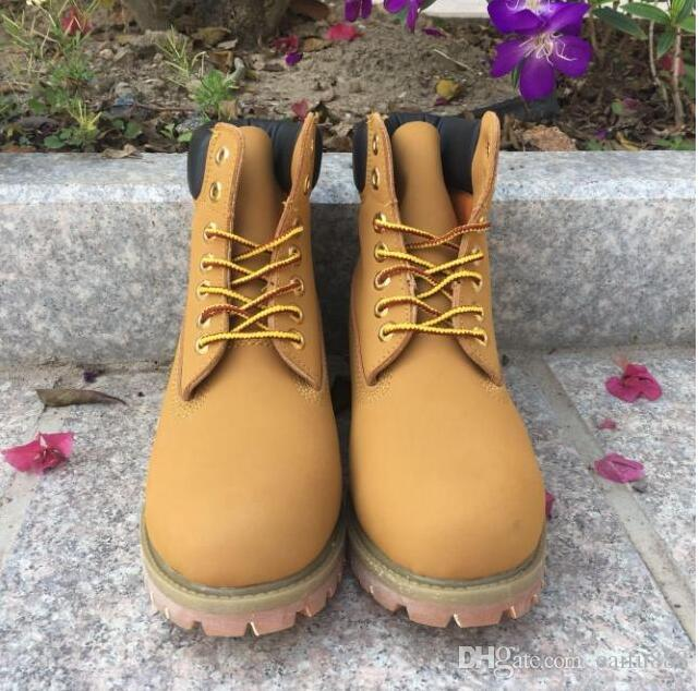 Top Quality 10061 Wheat Big Yellow Boots Men s And Women s Work Snow ... 809d063092b2