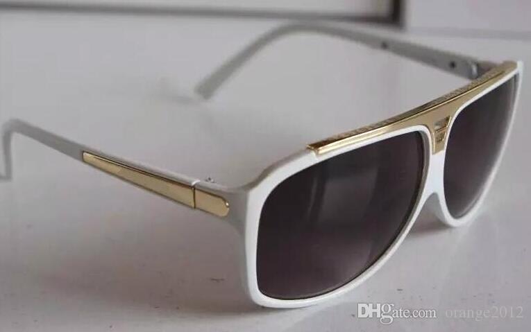 de Alta Qualidade Da Marca óculos de Sol Evidence Óculos de Sol Designer de Óculos Eyewear Das Mulheres Dos Homens Polido Óculos De Sol Pretos vêm com caixa caso