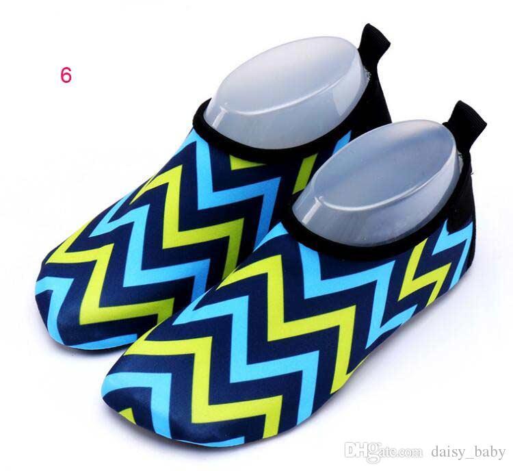 Yüzme Havuzu Beach Kid Ayakkabı Boy Kız Spor Ayakkabılar için Running Unisex Hızlı Kuru Ayakkabı Çocuk Boys Ayakkabı Sneaker Geometrik Desen Spor