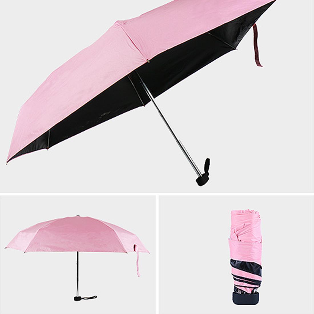 6bbdb5d35f6a Good Mini Pocket Umbrella Women Sunny and Rainy Mini Folding Umbrellas 200g  Small Sun Parasol Umbrella