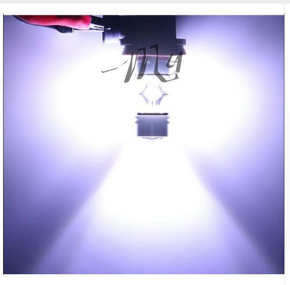 H8 / H11 100W 20LED super lumineux LED feux de brouillard de voiture DRL conduite lampe de queue lampe source de lumière de stationnement de stationnement 12V - 24V