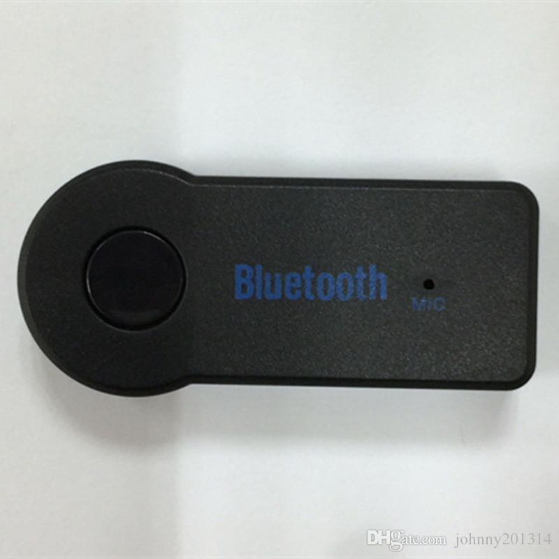 موسيقى ستيريو بلوتوث محول الصوت المتلقي للسيارة 3.5mm AUX الرئيسية المتكلم MP3 سيارة موسيقى نظام الصوت حر اليدين المدمج في هيئة التصنيع العسكري