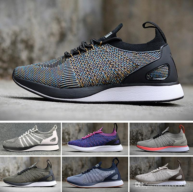 2018 Flying Racers Trainers Knit Oreo Black White Grey Casual Lunar Free  Jogging Shoes Men Women Summer Shoes Size 36 45 Pink Shoes Vegan Shoes From  ... 34cc68ccba