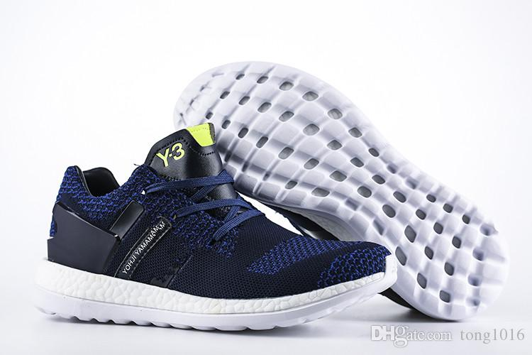 High Quality Y 3 Y3 Pure Boost ZG Knit Running Shoes New Style Sneakers  Ultraboost 3.0 Sport Shoes Men Primeknit Shoes Shoes Running Boys Running  Shoes From ... 34eeadaed4