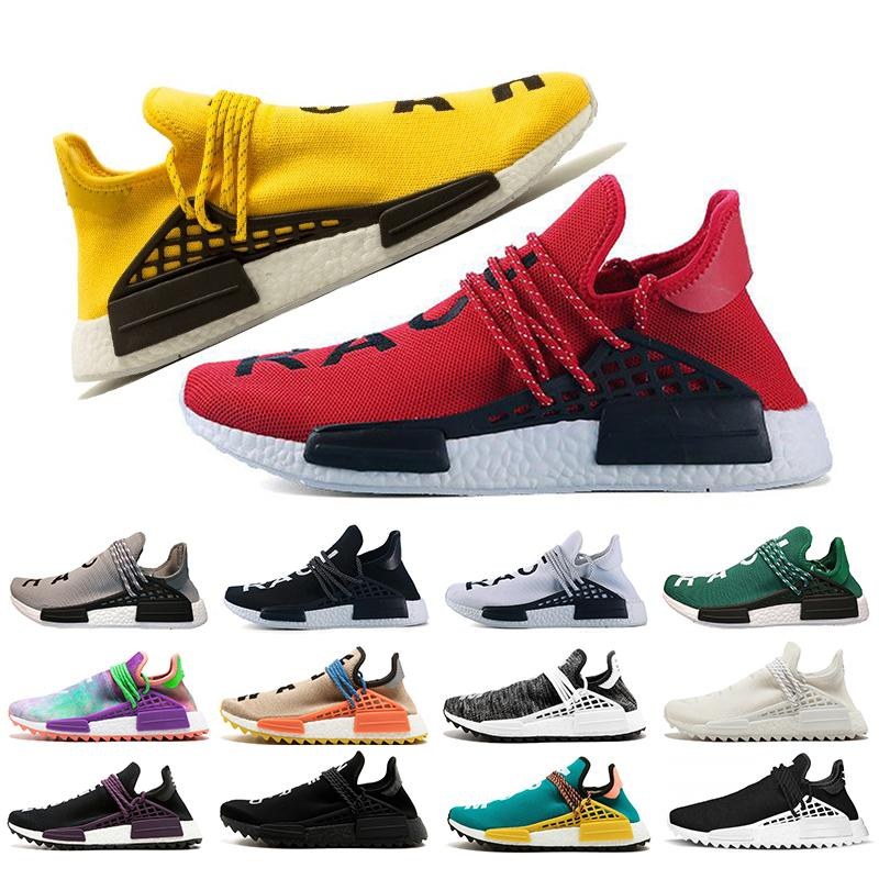ee1eaf68414d2 2019 Cheap Wholesale NMD Human Race Pharrell Williams Mens Running ...