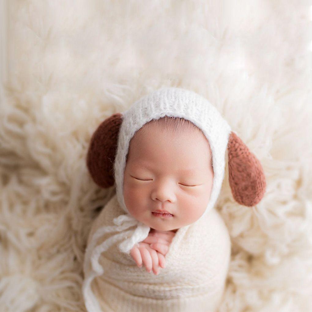 Neugeborenes Baby Fotografie Requisiten Baby Hut Kappe Mädchen Jungen Kleidung Neugeborenen Crochet Outfits Studio Foto Shooting Prop