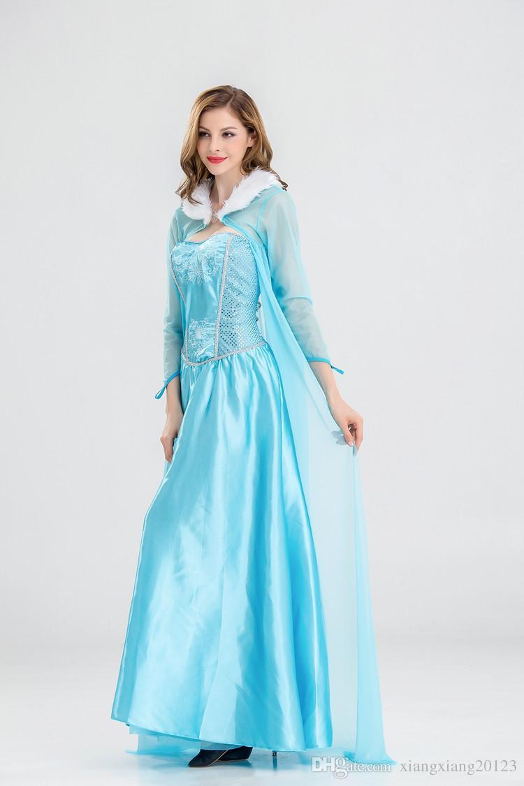 european and american cosplay theme frozen aisha cosplay costume