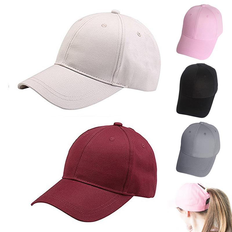 9b623e48b0c 2018 New Cc Hat Ponytail Baseball Cap Messy Bun Caps For Women Female  Summer Visor Cap Trucker Hat Fashion Girl Hip Hop Snapback Hats Hats For  Sale ...