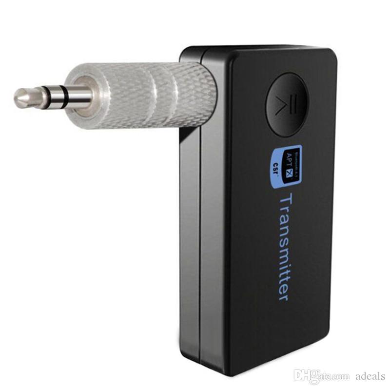 Auto Bluetooth Sender Musik Audio Stereo mit 3,5 mm Audio Ausgang für Bluetooth Lautsprecher oder Kopfhörer heißer Verkauf
