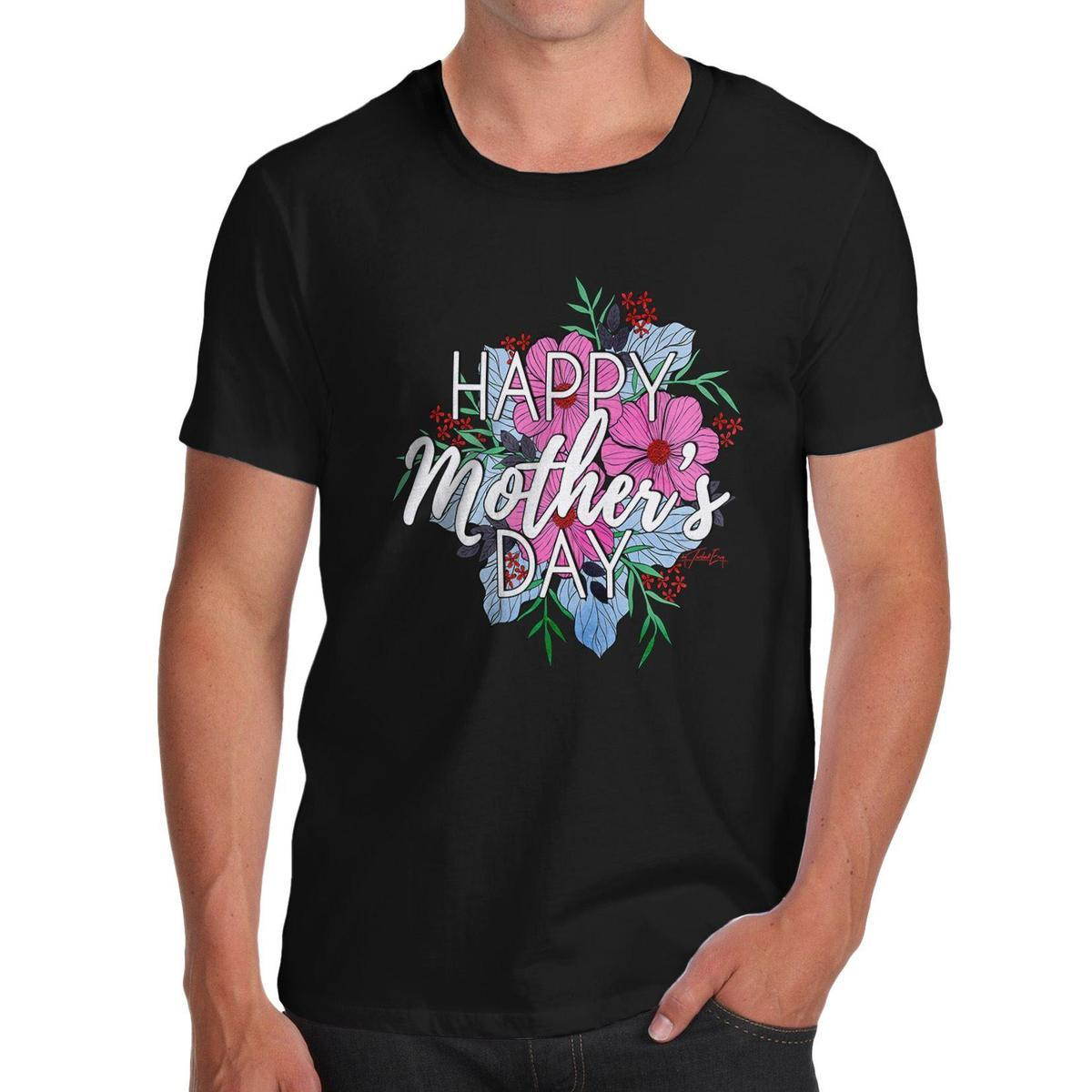 T-shirt da uomo Twisted Envy Happy Mother's Day