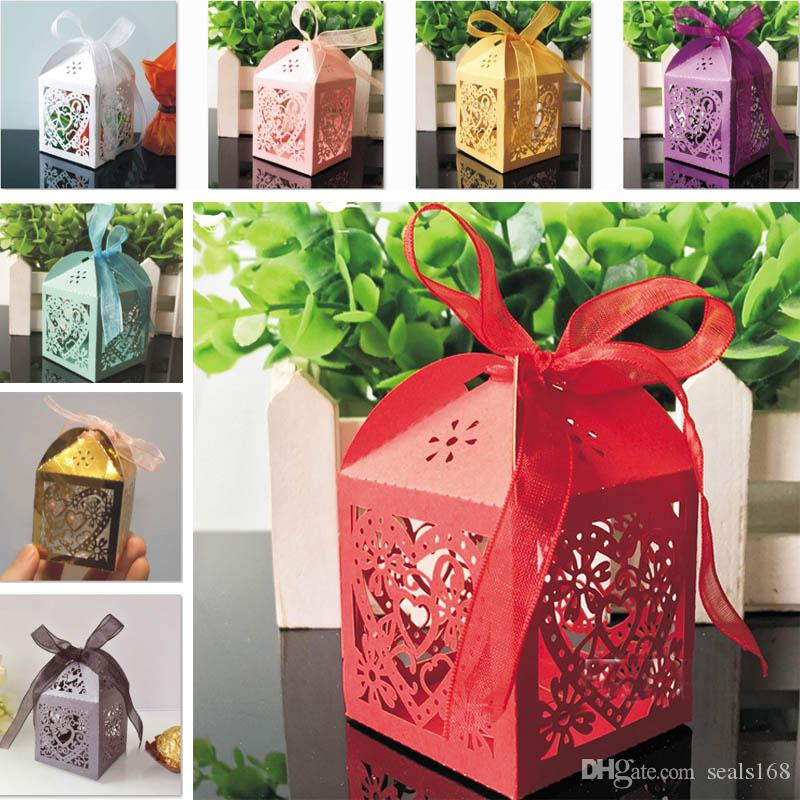 Wedding Favors Gift Boxes Candy Box Party Favors Hollow Wedding