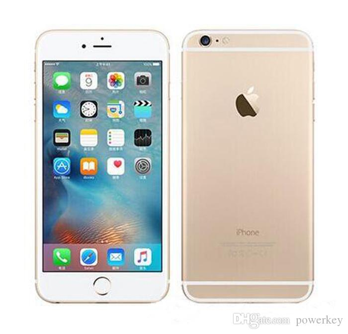 Yenilenmiş Orijinal Unlocked iPhone 6S Apple Cep Telefonu 4G LTE 4.7 inç iOS 2GB RAM 16GB / 32GB / 64 GB / 128 GB ROM 12MP Cep Telefonu