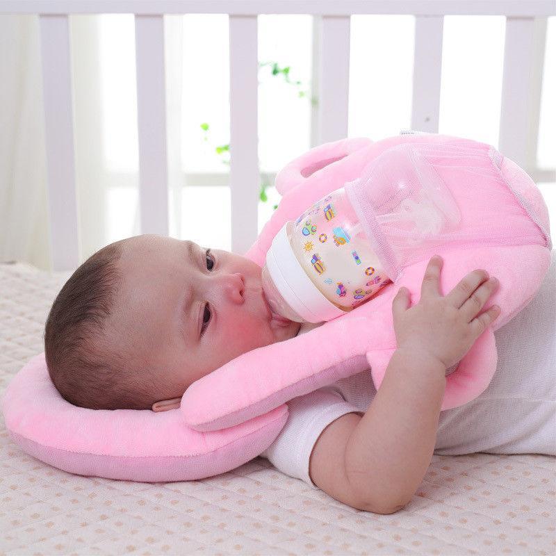 c70d702ad Compre Recién Llegado De Niños Recién Nacidos Bebé Cabeza Plana  Multifuncional Almohada De Enfermería Lactancia Materna Bebé Aprendizaje  Almohadas Cojín A ...