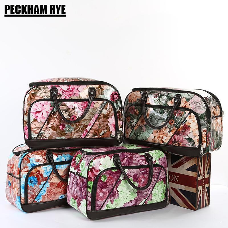 80d3fba78 High Quality Women Big Travel Bag PU Leather Large Capacity Hand ...