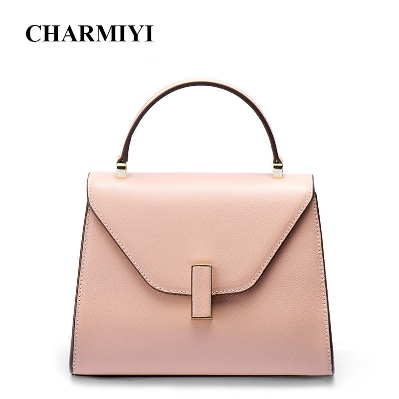 530fd6d3700f CHARMIYI Famous Brand Luxury Women Handbag Leather Messenger Bag Designer  Shoulder Top Handle Bags Fashion Crossbody For Lady Luxury Bags Black  Handbags ...