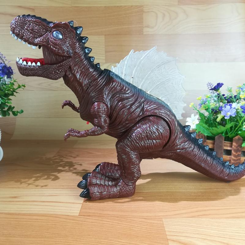 Electric Toy Large Size Walking Dinosaur Robot With Light Sound Tyrannosaurus Rex Kids Toys Electronic Cat Doors Electronic Doggy Door From Curd ... & Electric Toy Large Size Walking Dinosaur Robot With Light Sound ...