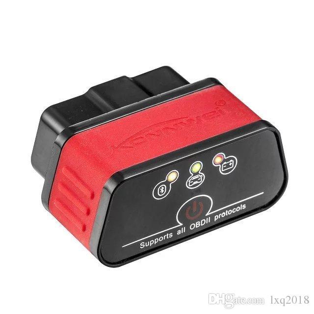 KW903 ELM327 OBD2 OBDII Bluetooth Car Fault Diagnostic Scanner Tool For Android