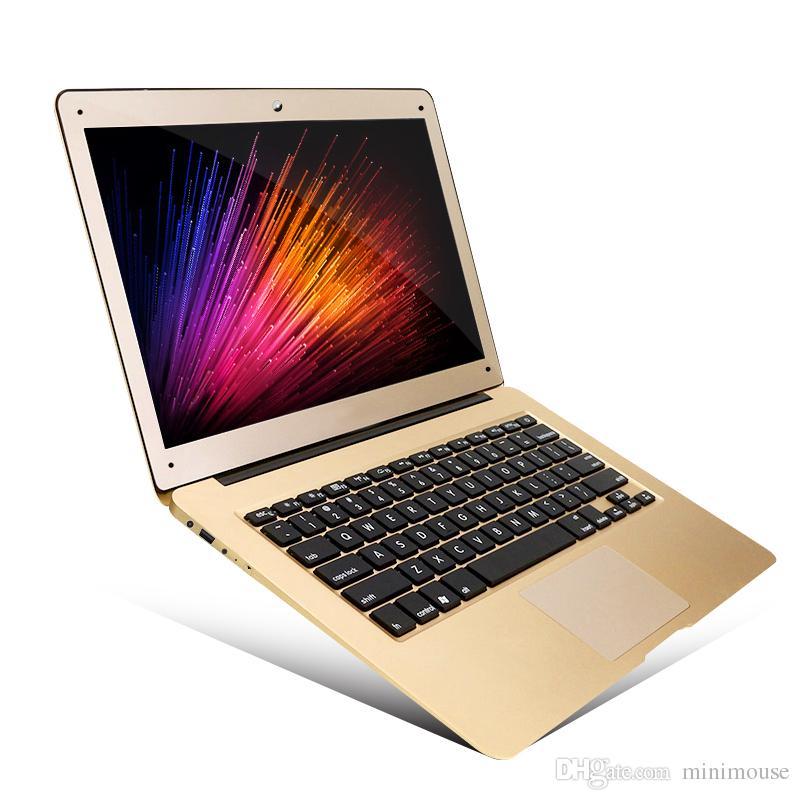 14inch كمبيوتر محمول رقيقة جدا I7 CPU 1000G القرص الثابت النمط المألوف الكمبيوتر الدفتري الصانع المهنية