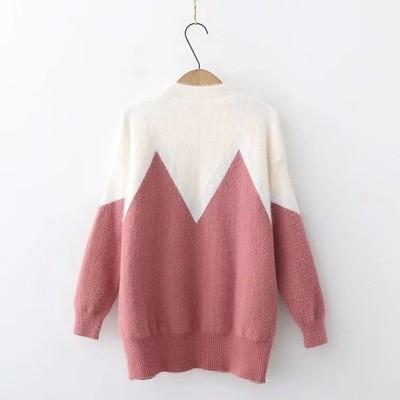 0514f7bac791 Hirsionsan Winter Chenille Sweater Women 2018 Casual Colors Patchwork Women  Sweaters And Pullovers Soft Warm Jumper Sueter Mujer S18100902 Online with  ...