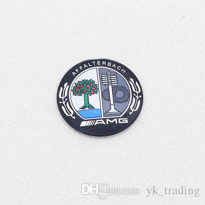 56mm 4 unids / set Mercedes Benz B AMG Apple Tree Carlsson LORINSER Logotipo Insignia Ruedas Cubo Cubo del centro cubierta del emblema etiqueta
