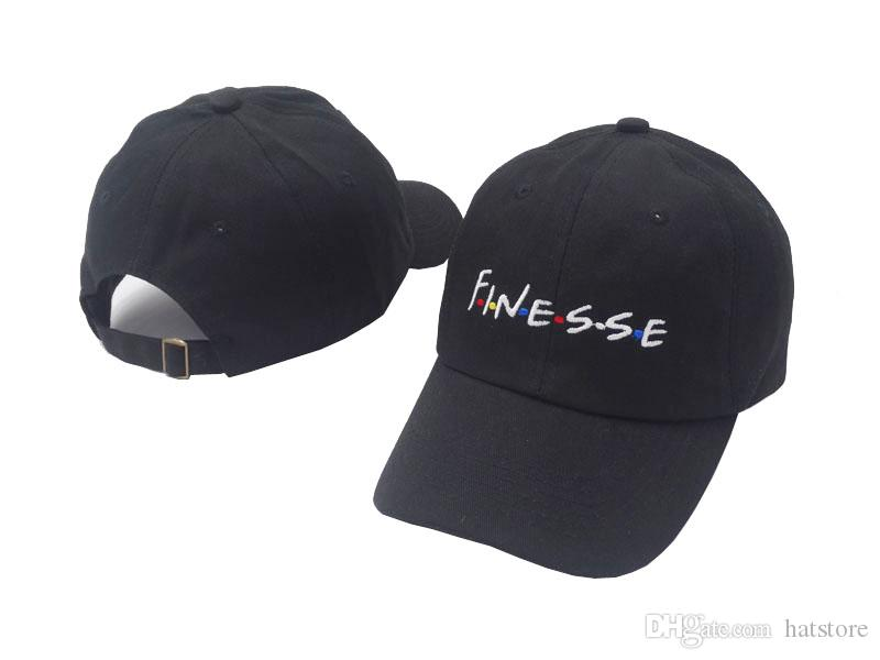 9a8ceae7cfa 2018 New FINESSE Hat Slide Buckle Fashion Style Vintage Art Dad Cap Seasons Caps  Meme Man Women Baseball Cap Custom Hats Mens Hats From Hatstore