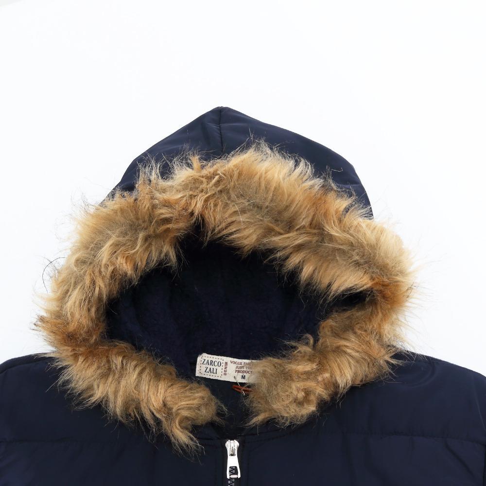 Fredd Marshall New Men Fur Collar Cappotto con cappuccio invernale giacca di cotone spesso top casual con felpa uomo tuta sportiva da neve 78