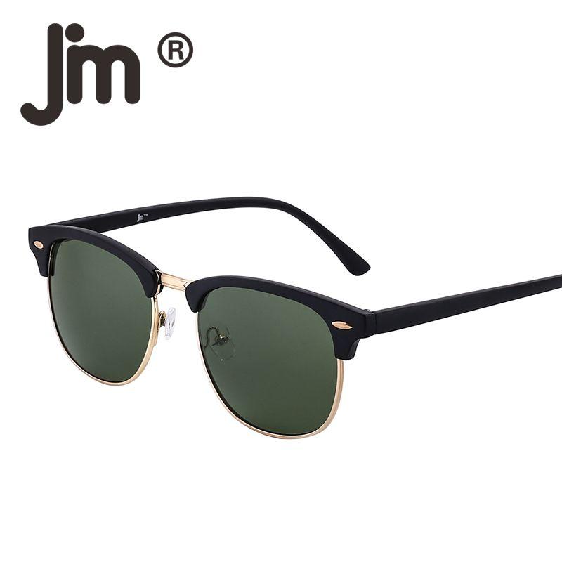 3c26fd27562d JM Vintage Retro Half Frame Semi Rimless Gradient Lens Sunglasses Women Men  UV400 Classic Sun Glasses Fashion Accessory Unisex Oculos Gafas Cycling ...