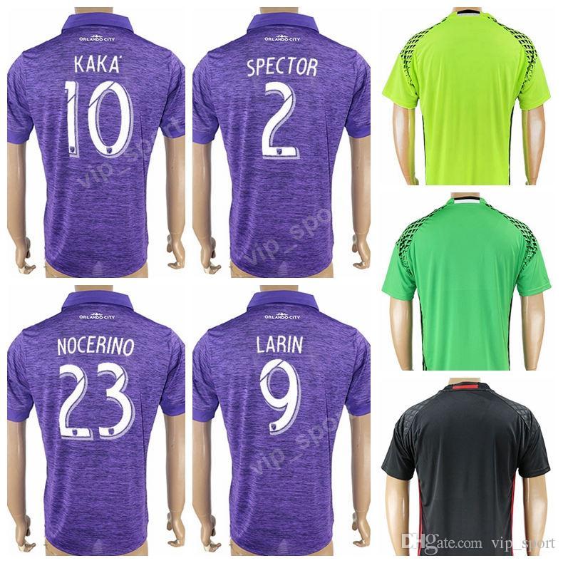 17 18 Soccer Orlando City Jersey 2018 Thailand 10 KAKA 2 SPECTOR 9 LARIN 23  NOCERINO 20 SHEA 78 COLLIN 20 SEWELL Football Shirt Kits UK 2019 From  Vip sport 5f0d871c2