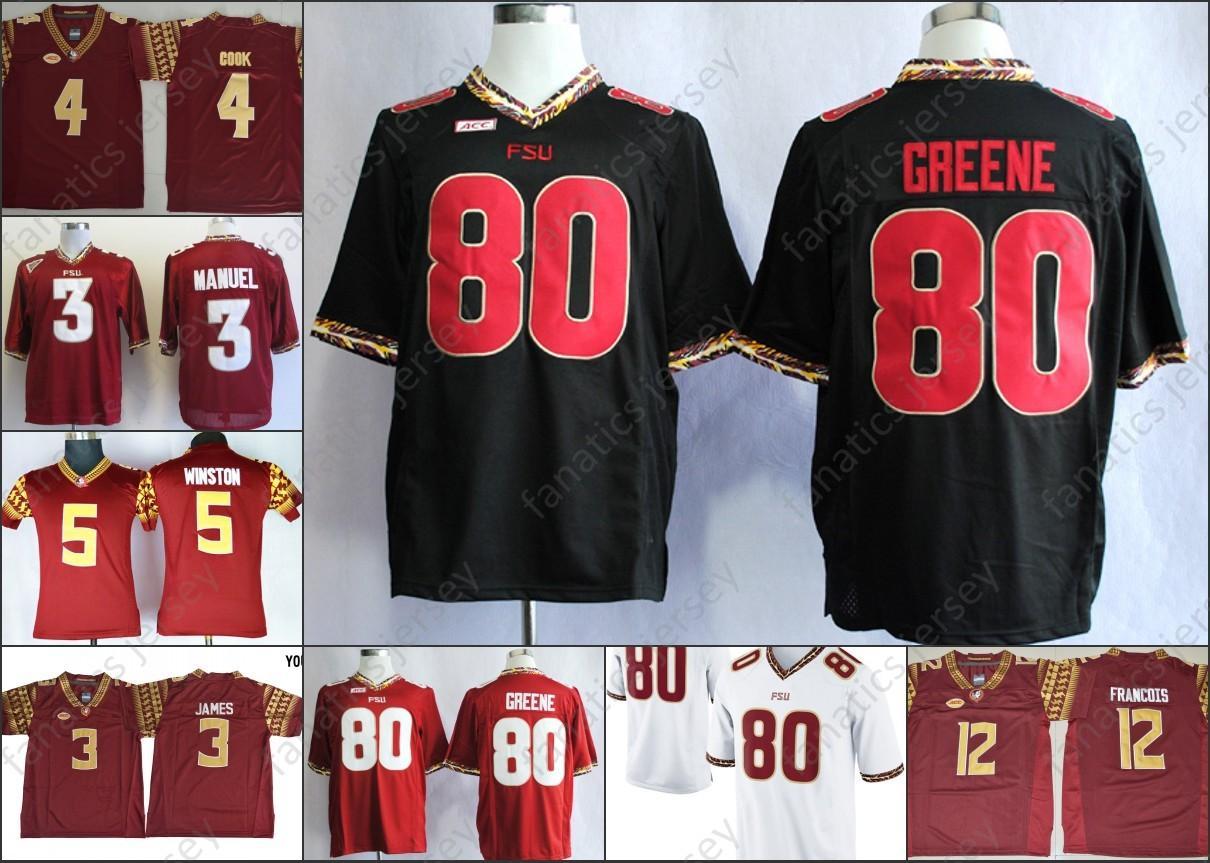 38627095f Florida State Seminoles Jerseys NCAA FSU Football Dalvin Cook Deondre  Francois E.J Manuel Jameis Winston Rashad Greene Men Kid Jersey Online with  ...