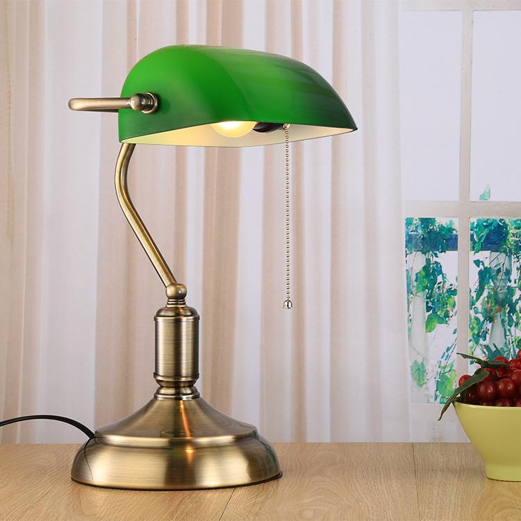 Acheter Loft Vintage Table Industrielle Edison Lampe De Bureau Lampe