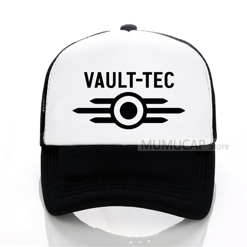 Vault Tec Logo Gaming Video Game Fallout Baseball Cap Men Classic Casual Cap  Summer Outdoor Trucker Women Mesh Vault Te Hats Online Cap Online From  Huazu 6ee0f9339288