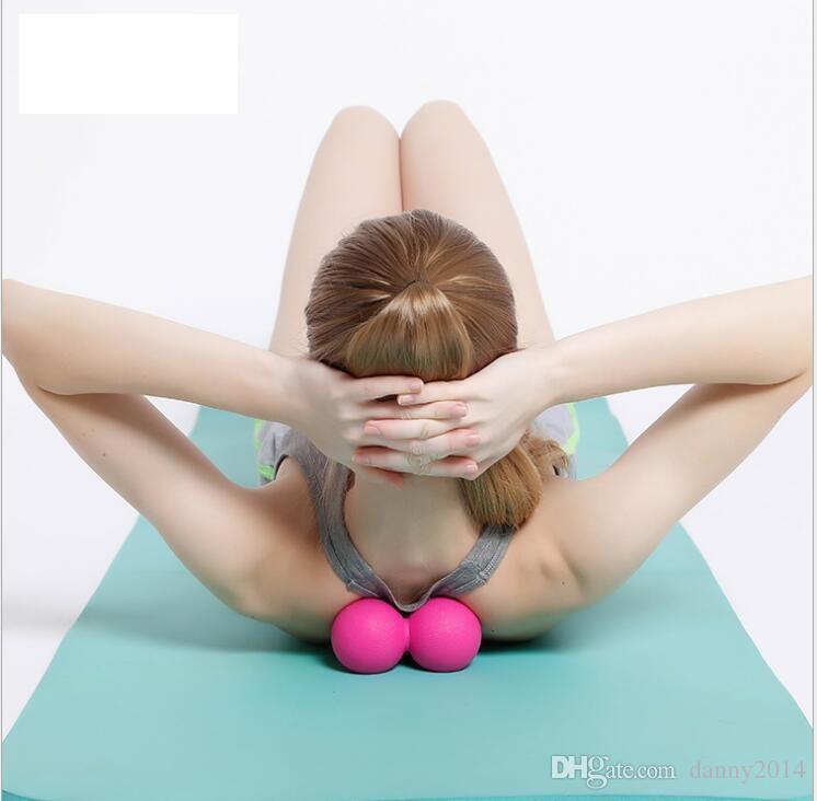 Yoga pilates masaj Fıstık topu Akupunktur noktası masaj topu spor eğitimi şifa topları kas gevşeme Fasya topları