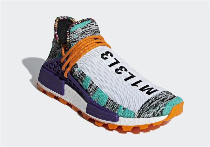 1a7750f5c 2019 2018 Best Pharrell Williams X Originals NMD Hu Trial Solar Pack M1L3L3  3MPOW3R MOTH3R Human Race Men Women Running Shoes Authentic Sneakers From  ...