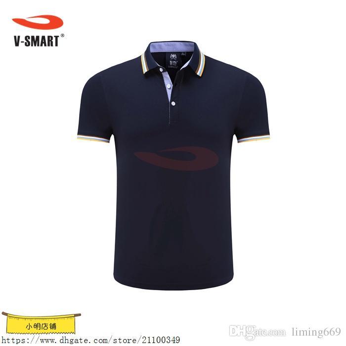 Compre Camisa CT121 Masculina De Algodão T Polo Diferente Collar Cor  Escritório Uniforme Camisa Roupas De Cor Pode Ser Personalizado f234cb049df76