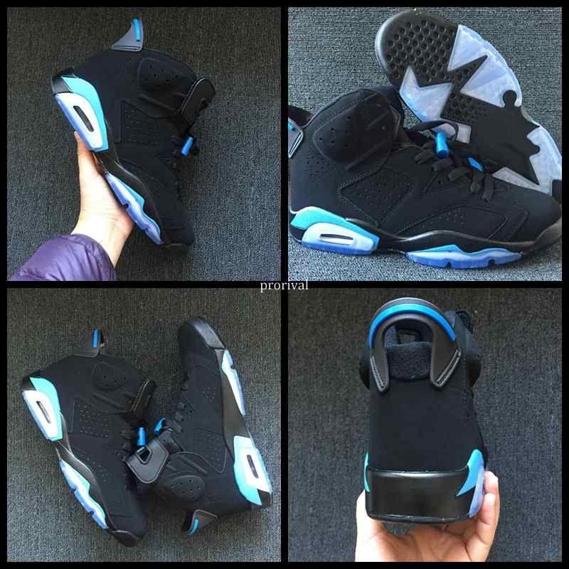 pretty nice 1719a dba0c Compre 2018 Unc University Blue 6 Vi Zapatos De Baloncesto Para Hombres  Mujeres 6s Mens Sports Sneakers Athletics Trainers Talla 36 47 A  100.2 Del  Prorival ...