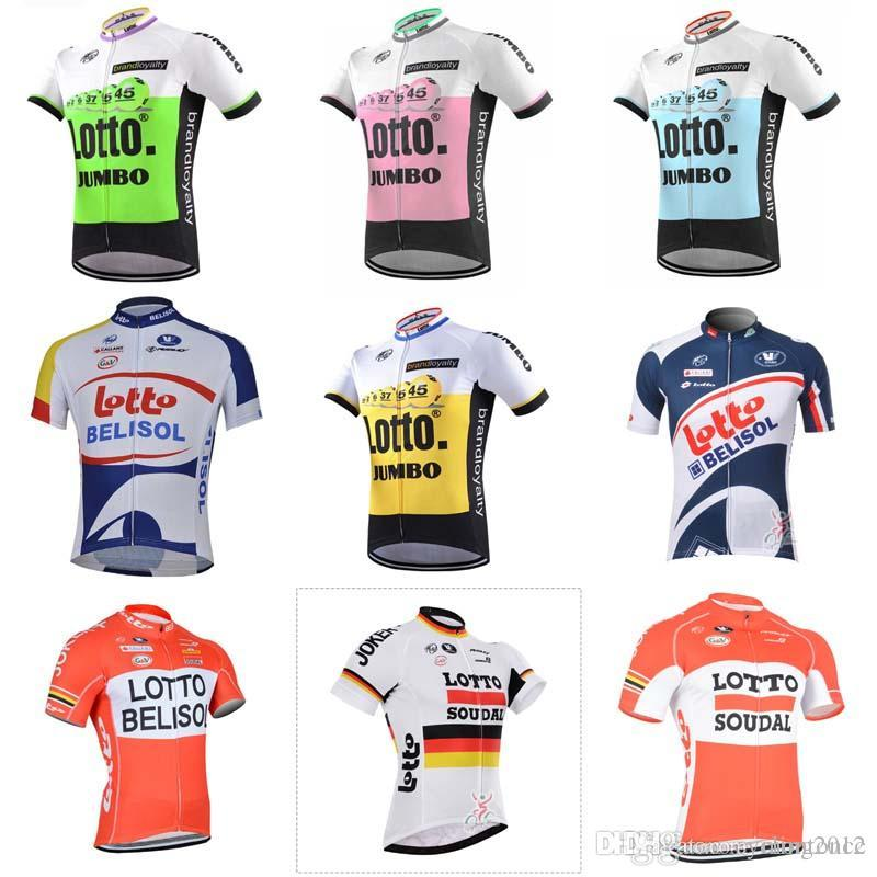 2018 Tour De France NEW Cycling Lotto Team Jersey Quick Dry Bicycle Bike  Wear Clothing C1920 LOTTO Cycling Jersey Cycling Clothing Ropa Ciclismo  Hombre ... 0b17eaf6b